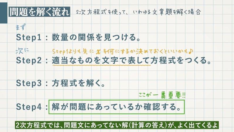 2次方程式の利用①図形系